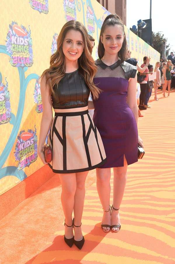 Kids Choice Awards 2014 look red carpet - Laura Marano e Vanessa Marano