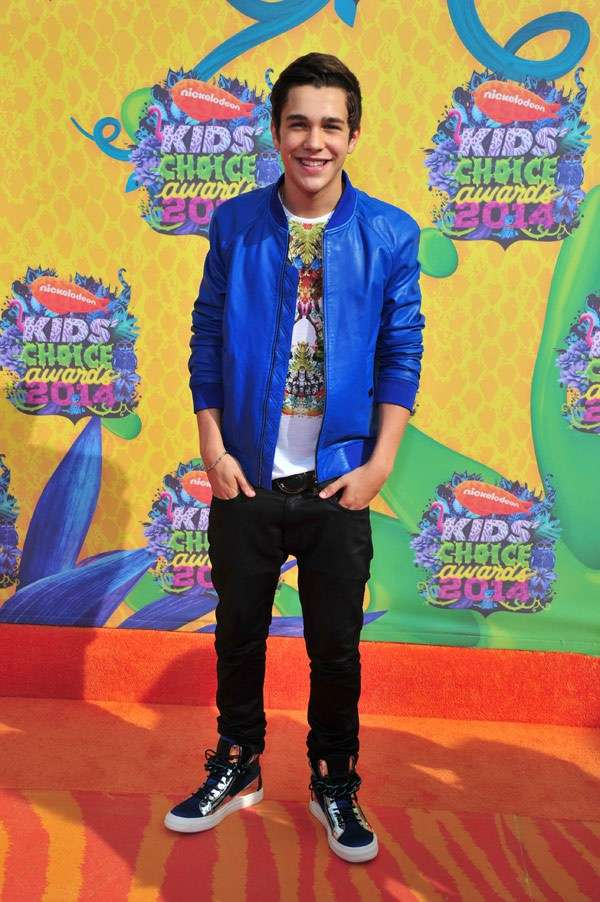 Kids Choice Awards 2014 look red carpet - Austin Mahone