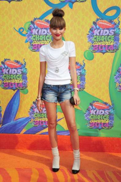 Kids Choice Awards 2014 look red carpet - Zendaya