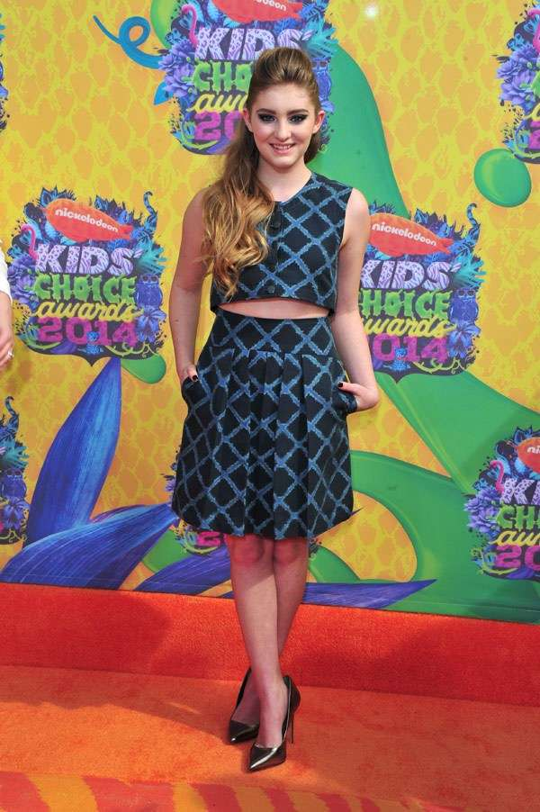 Kids Choice Awards 2014 look red carpet - Willow Shields