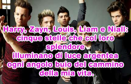 One Direction: le vostre frasi per il contest Reaching for the stars