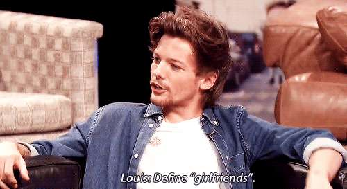 One Direction - 1D Day - gif - Louis Tomlinson misterioso