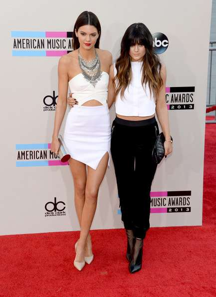 American Music Awards 2013 - Kendall e Kylie Jenner