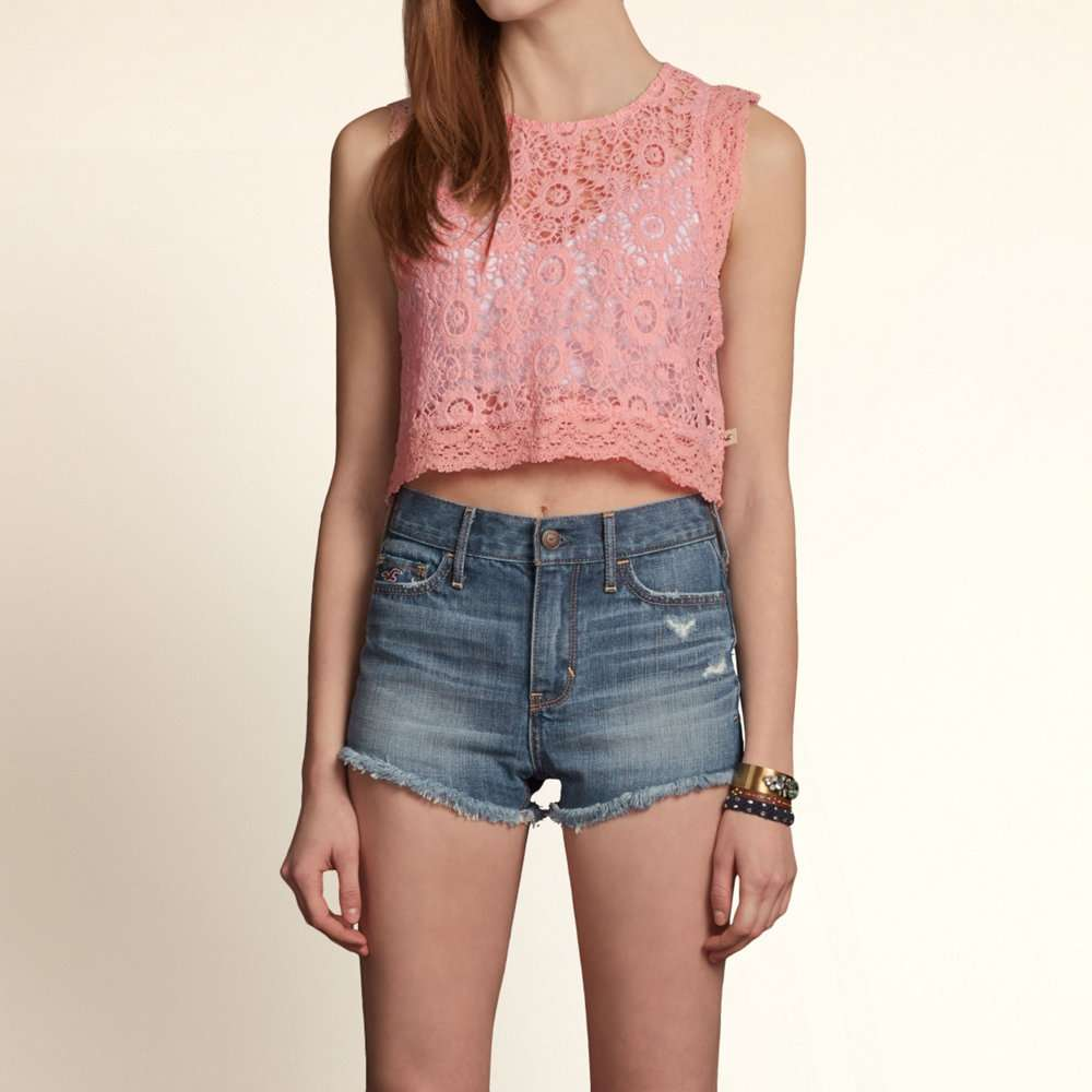Primavera Estate moda trends - Rihanna Top Crop Hollister