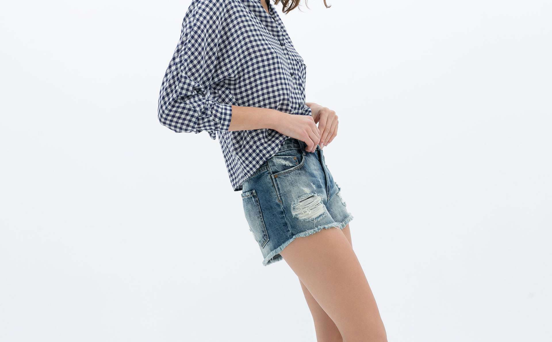 Primavera Estate moda trends - Miley Cyrus shorts Zara