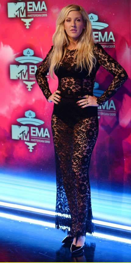 MTV EMA 2013 Red carpet - Ellie Goulding