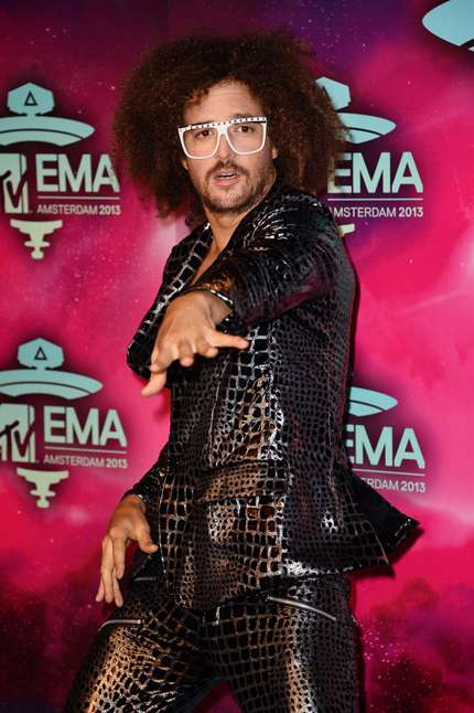 MTV EMA 2013 Red carpet - RedFoo