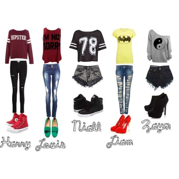 Copia il look degli One Direction