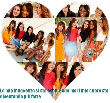 Fifth Harmony heart