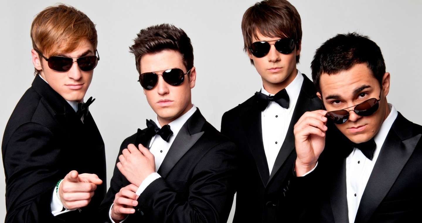 Big Time Rush come James Bond