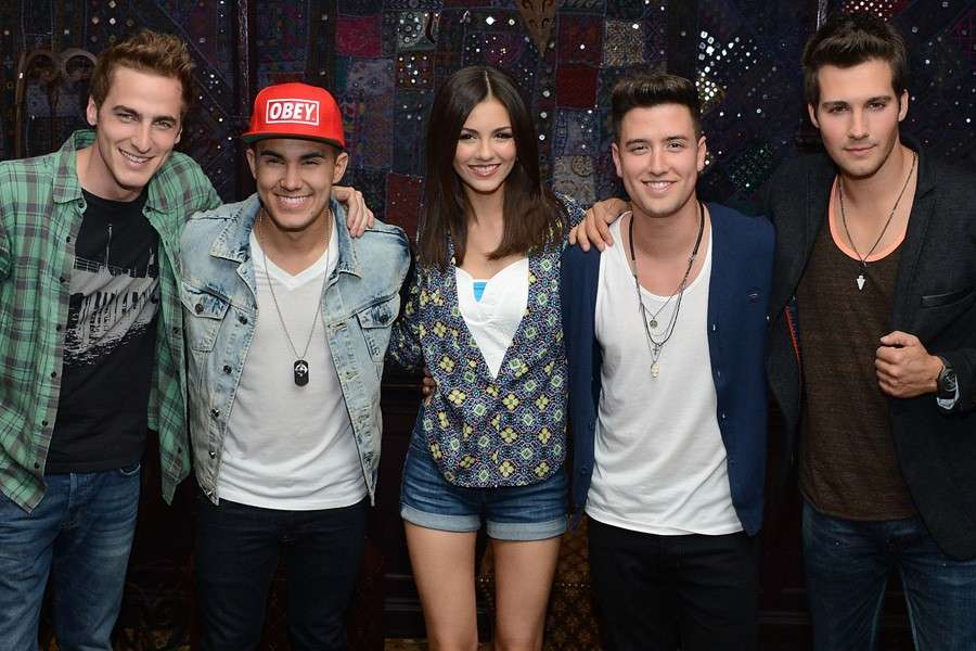 I Big Time Rush e Victoria Justice