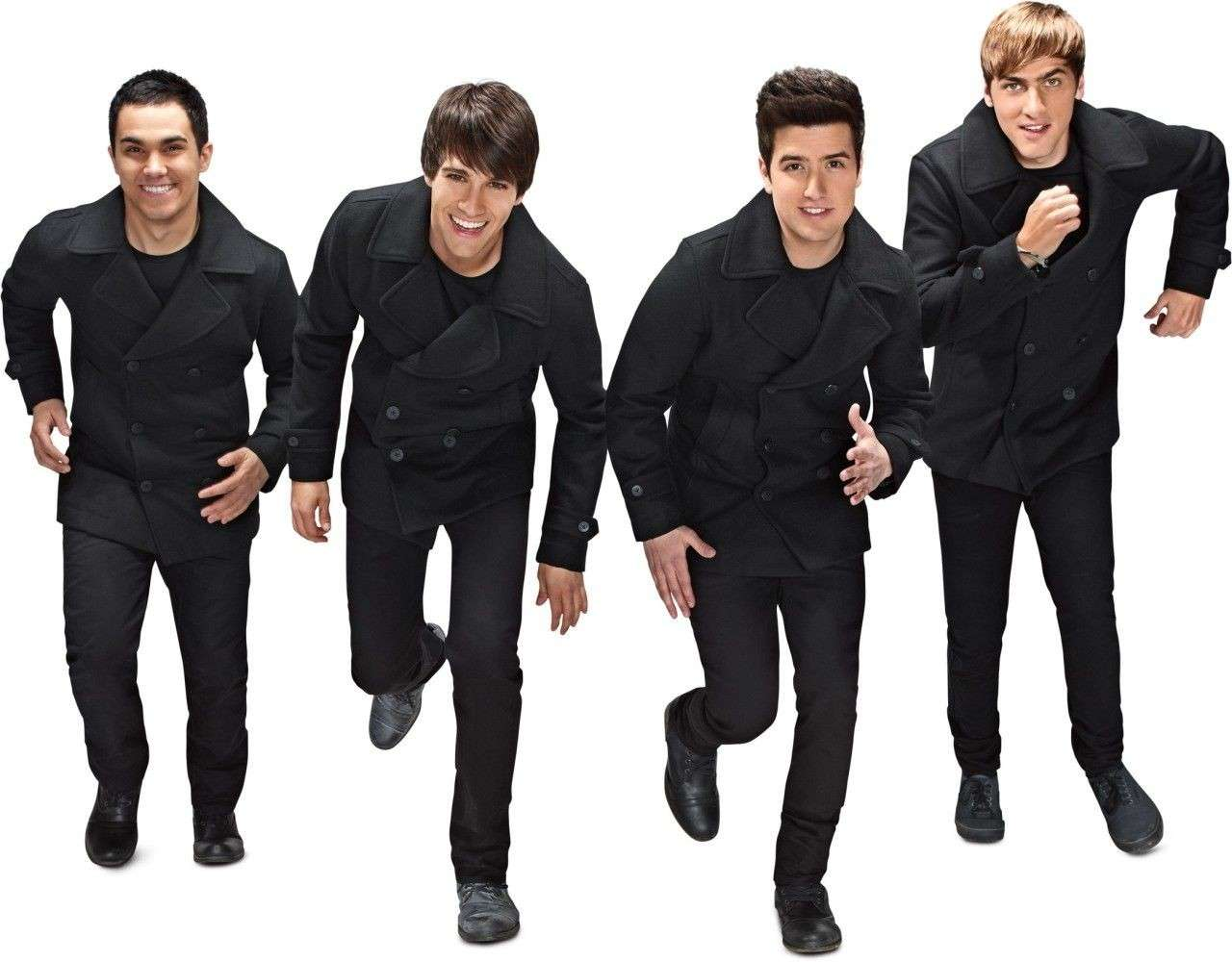 I Big Time Rush in black