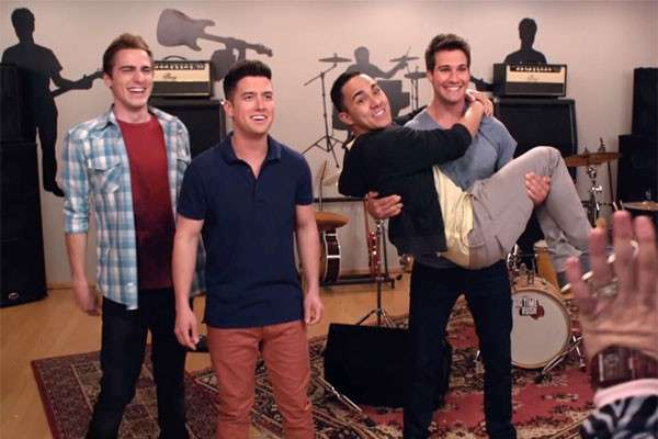 I Big Time Rush nella serie tv