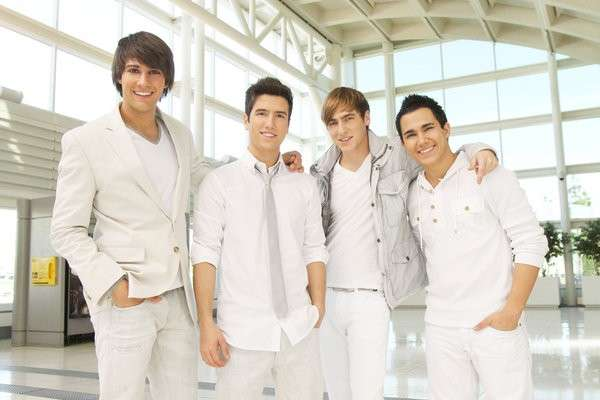 I Big Time Rush total white