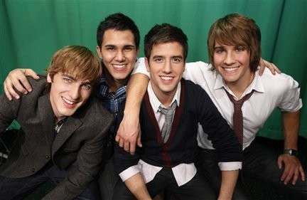 I sorrisi dei Big Time Rush