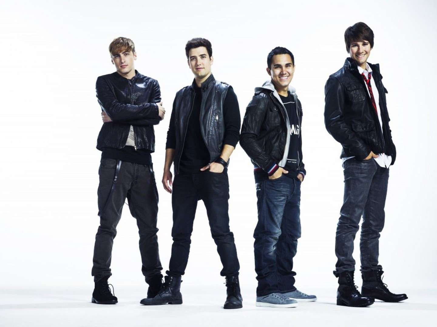 Look casual per i Big Time Rush