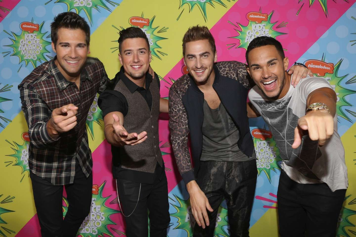 Un saluto dai Big Time Rush