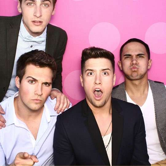 Una foto simpatica dei Big Time Rush