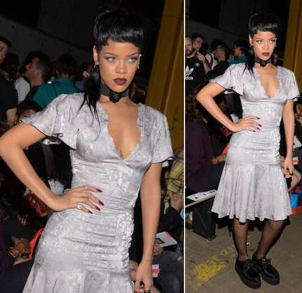 New York Fashion Week 2013 - Rihanna