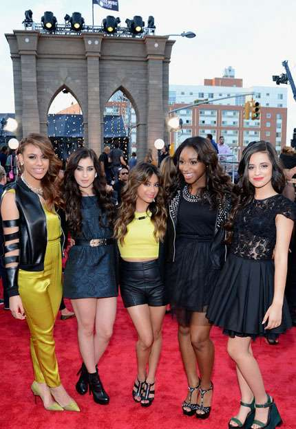 Mtv video music awards 2013 red carpet - Fifth Harmony