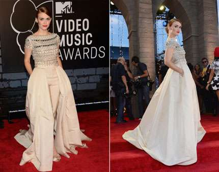 mtv video music awards 2013 red carpet - Holland Roden
