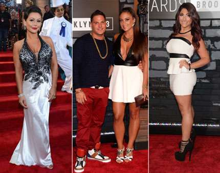 mtv video music awards 2013 red carpet - JWow, Ronnie, Sammi, Deena