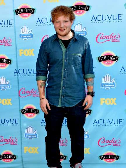 Teen Choice Awards 2013 - Ed Sheeran