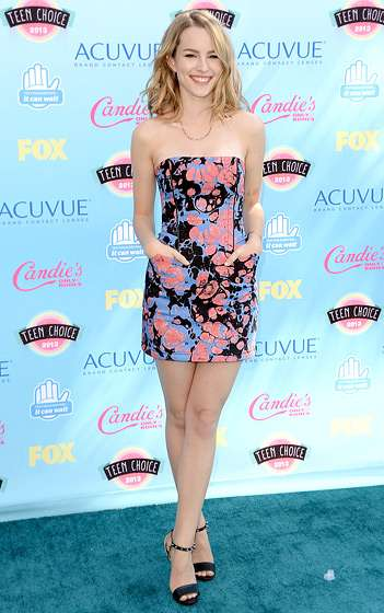 Teen Choice Awards 2013 - Bridgit Mendler