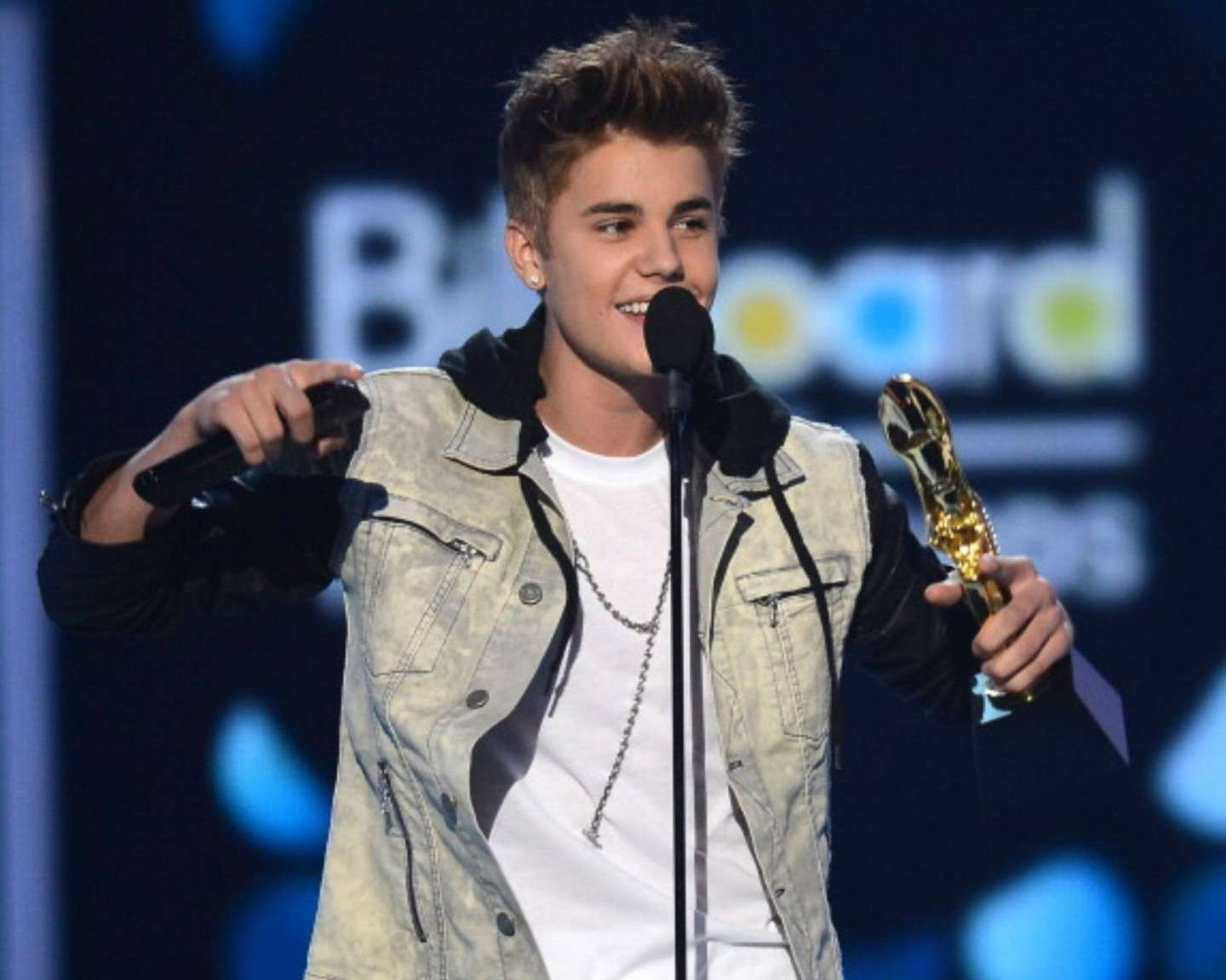 Justin Bieber for the Billboard Milestone Awards