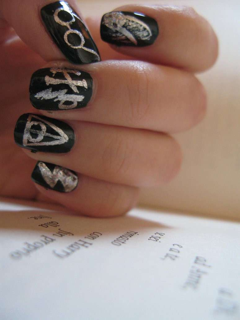 Nail art and book