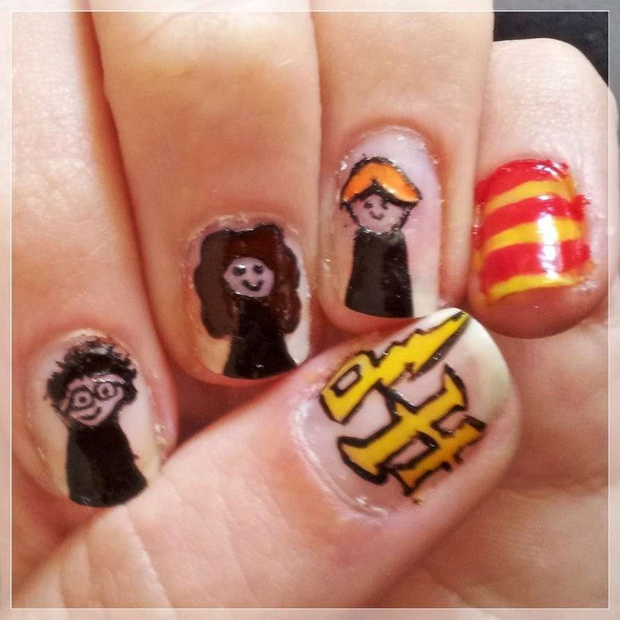 Nail art harry
