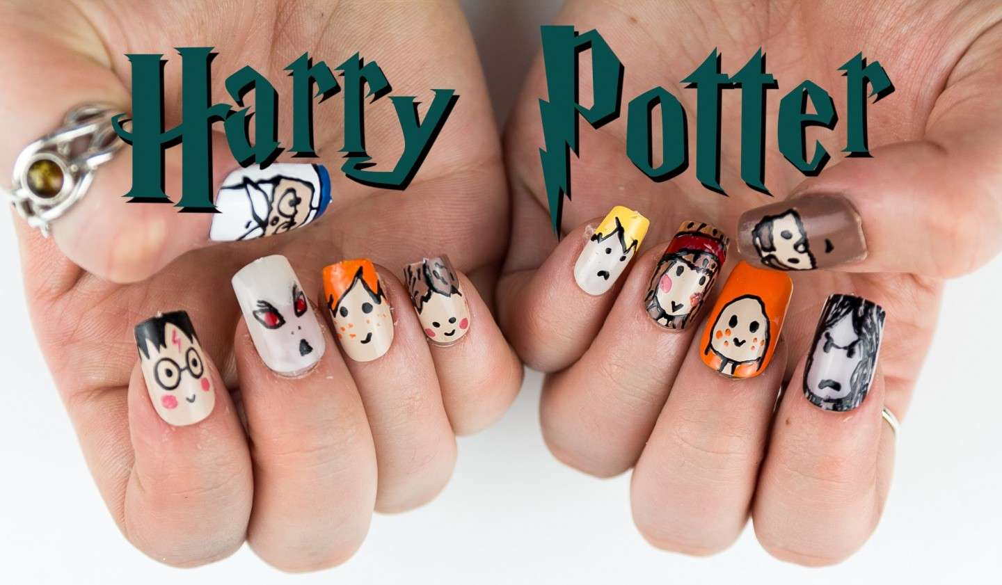 Nails harry potter