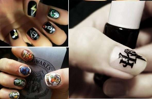 Nail art Hatty Potter