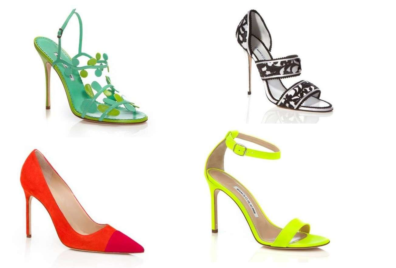 Scarpe colorate estate