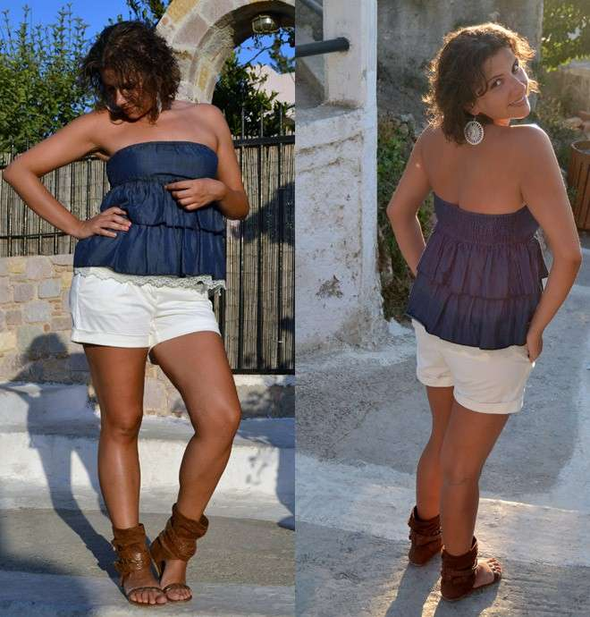 Outfit top e shorts