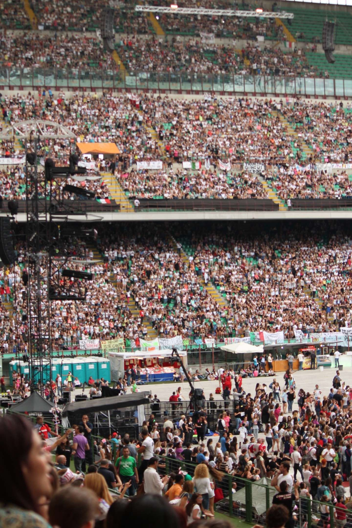 One Direction, Where We Are Tour 2014: San Siro Milano