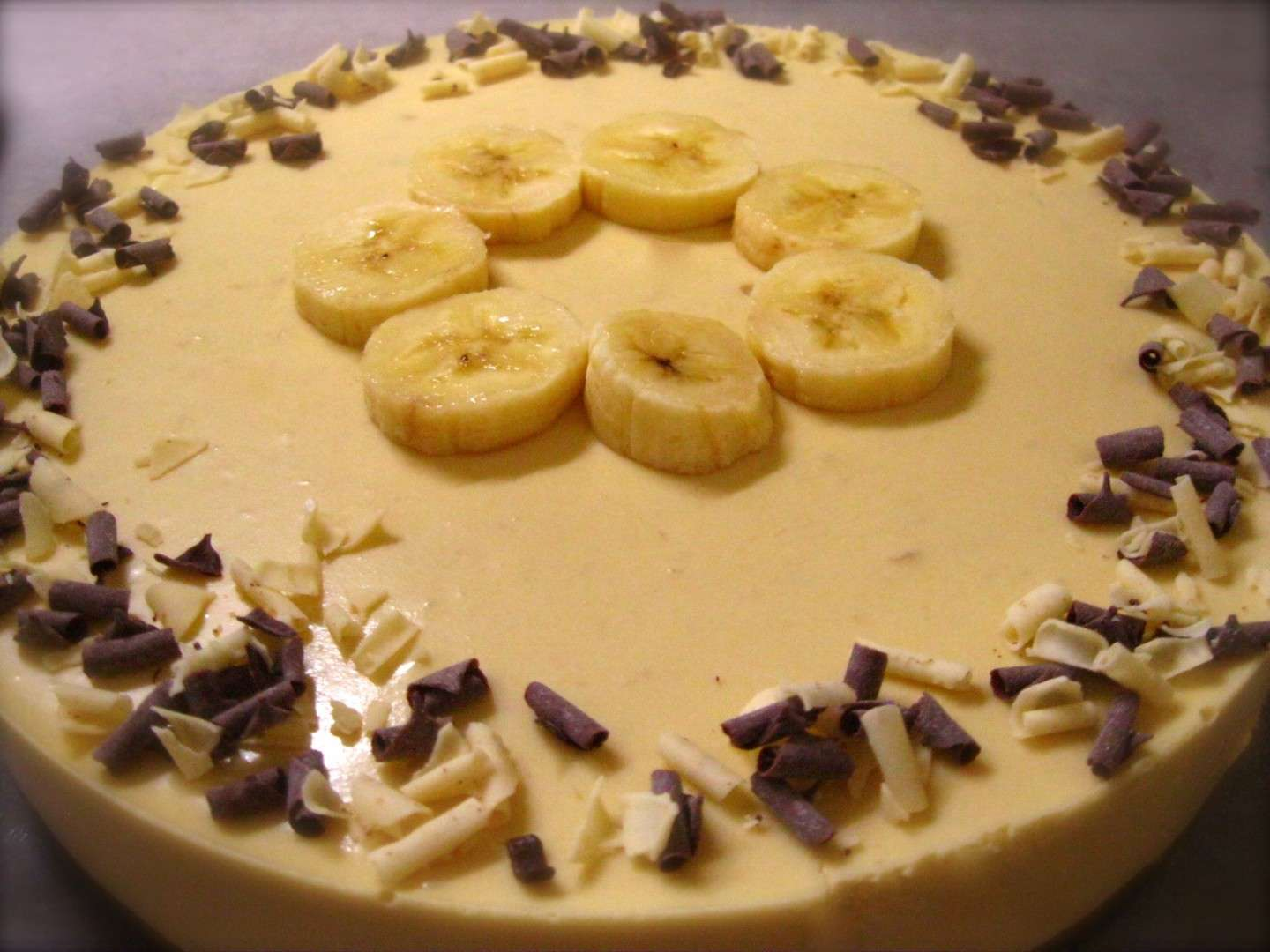 Cheesecake banana