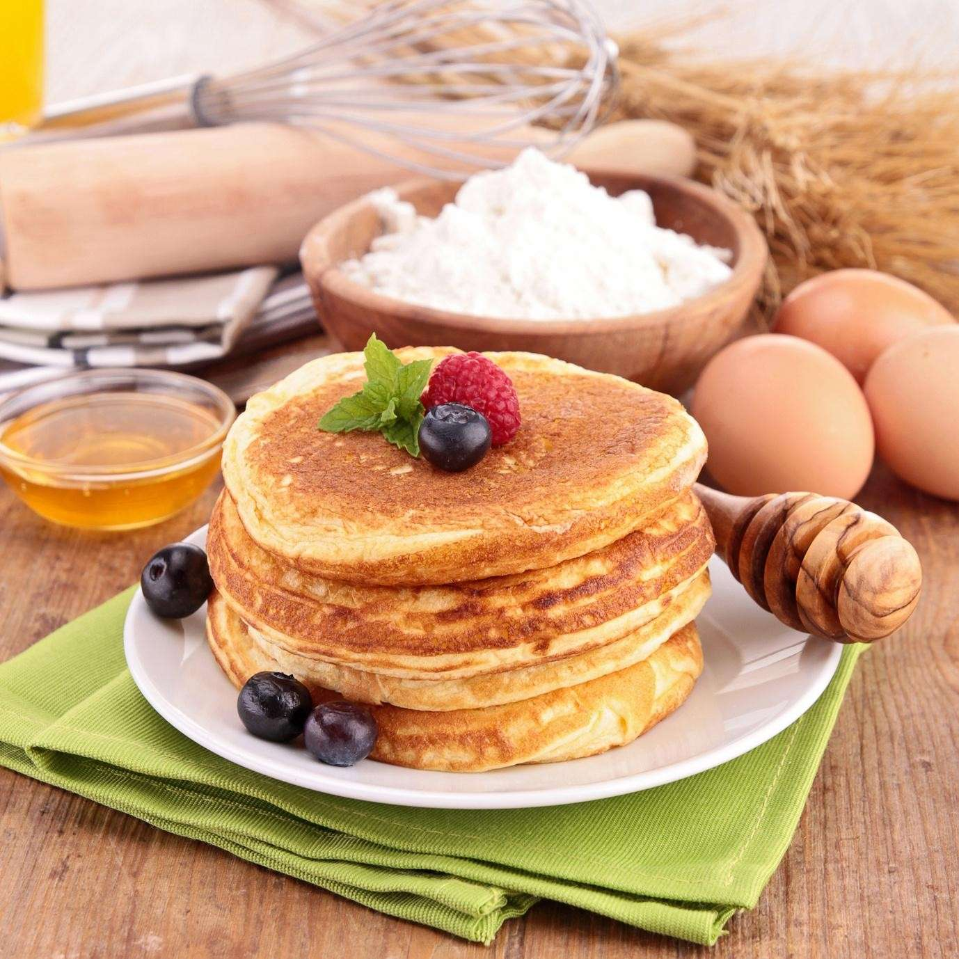 Ingredienti per pancake