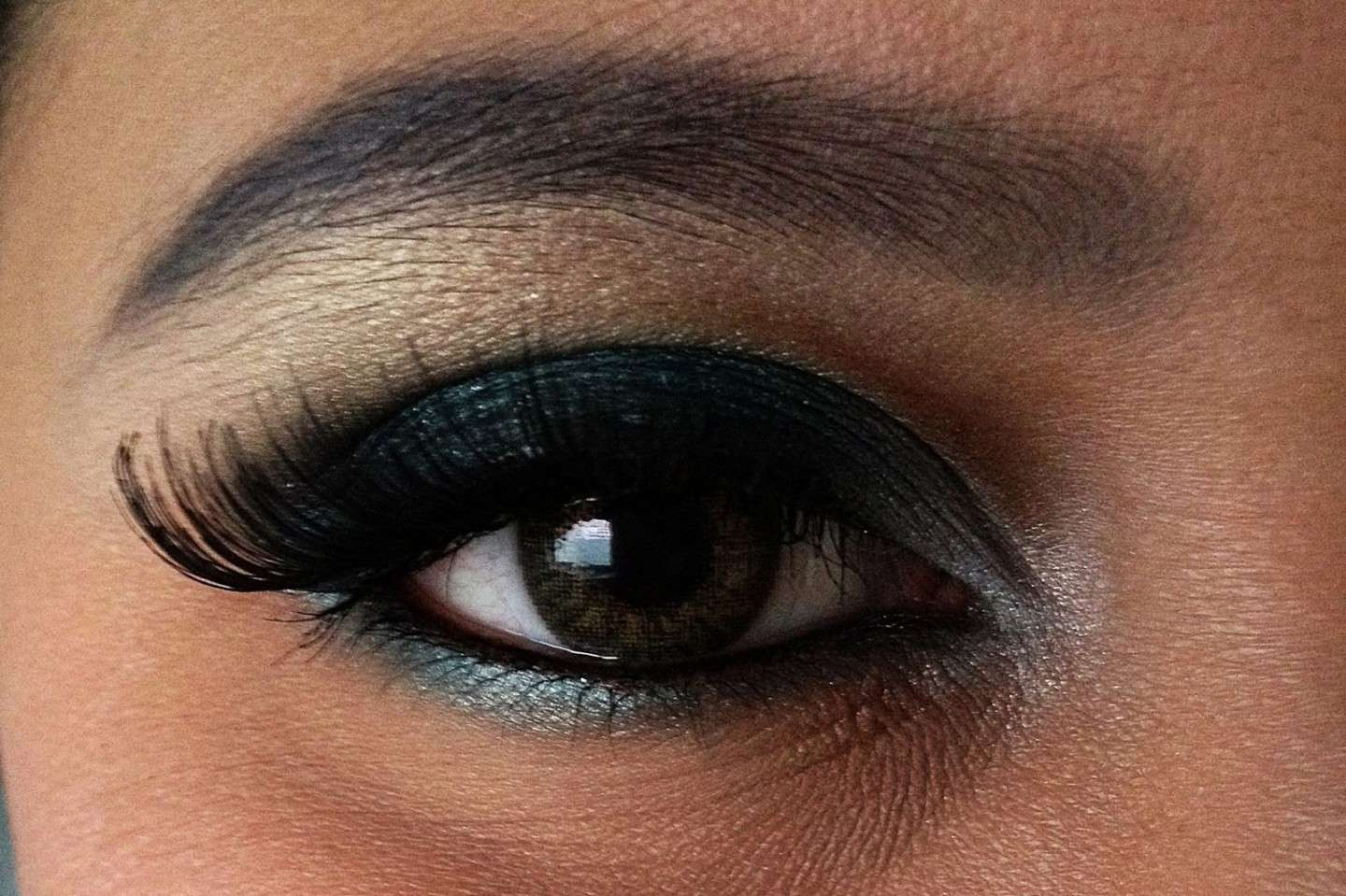 Trucco per occhi grandi: Make up smoky