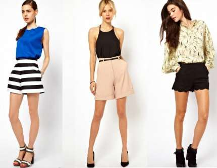 Look estate 2013: shorts per tutte le occasioni! Foto!