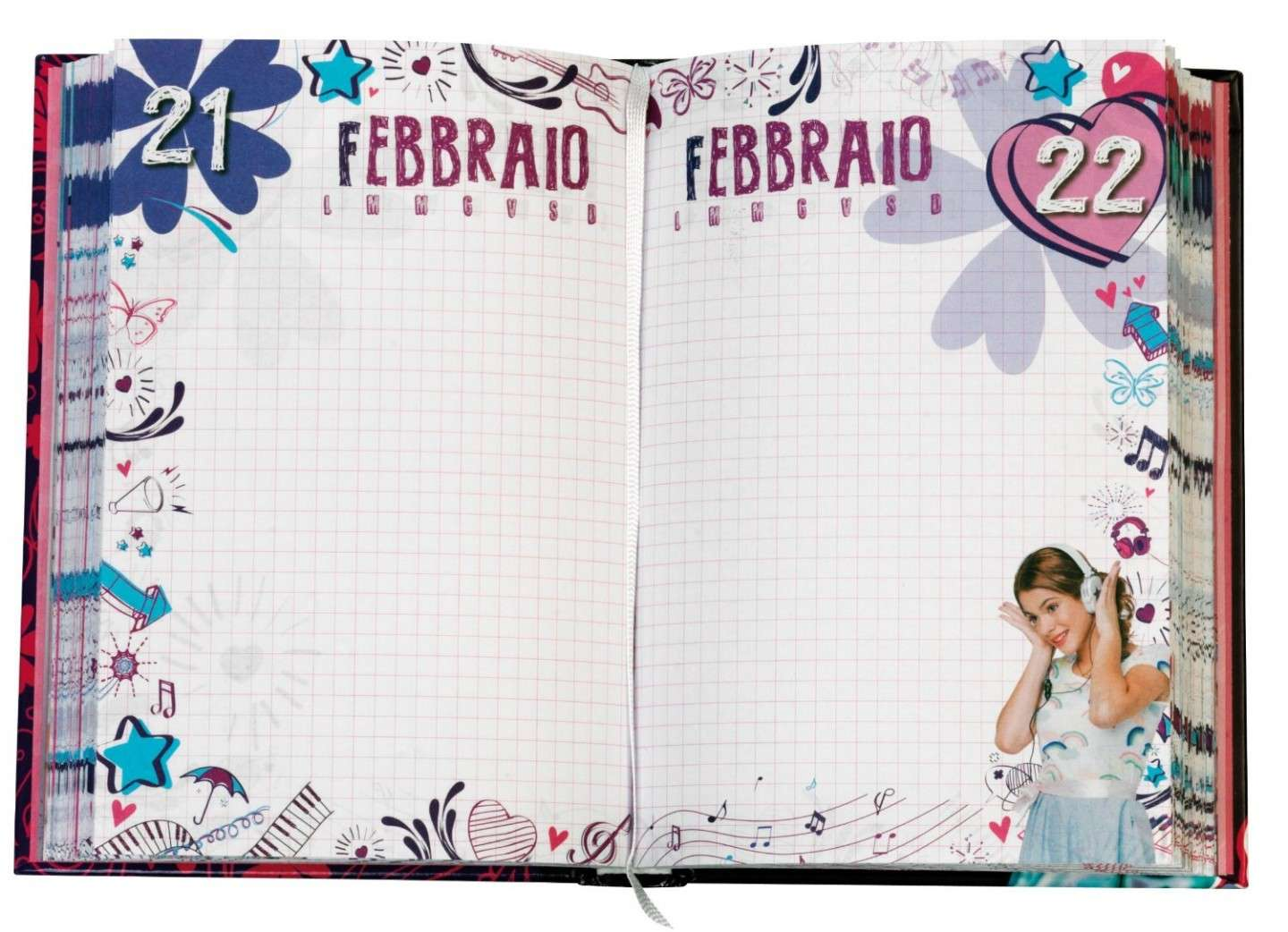 Back to school 2014 Violetta: Diario