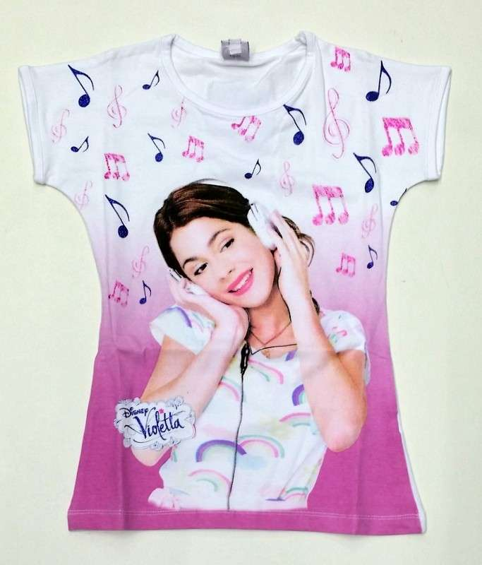 Back to school 2014 Violetta: T-shirt Violetta