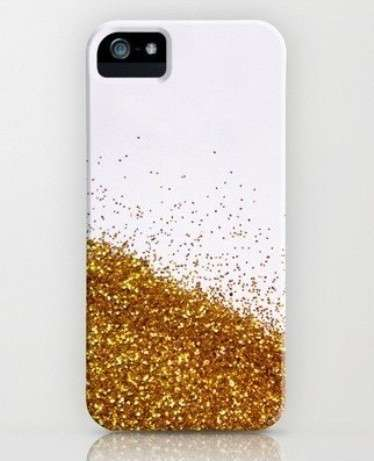 Cover iphone oro