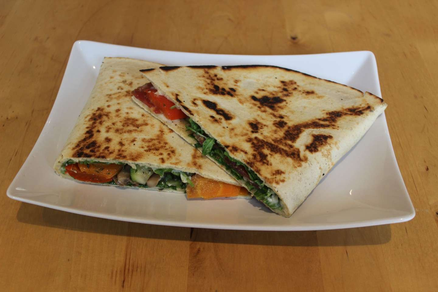 Piadina light verdure