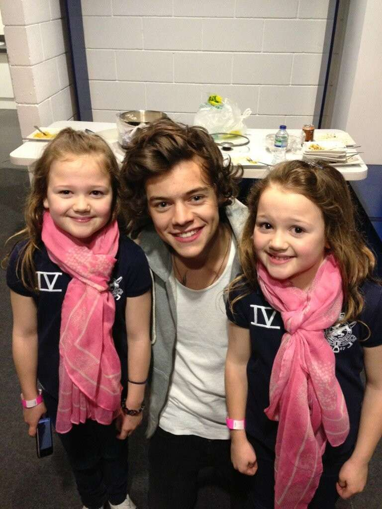 Harry Styles e piccole fan