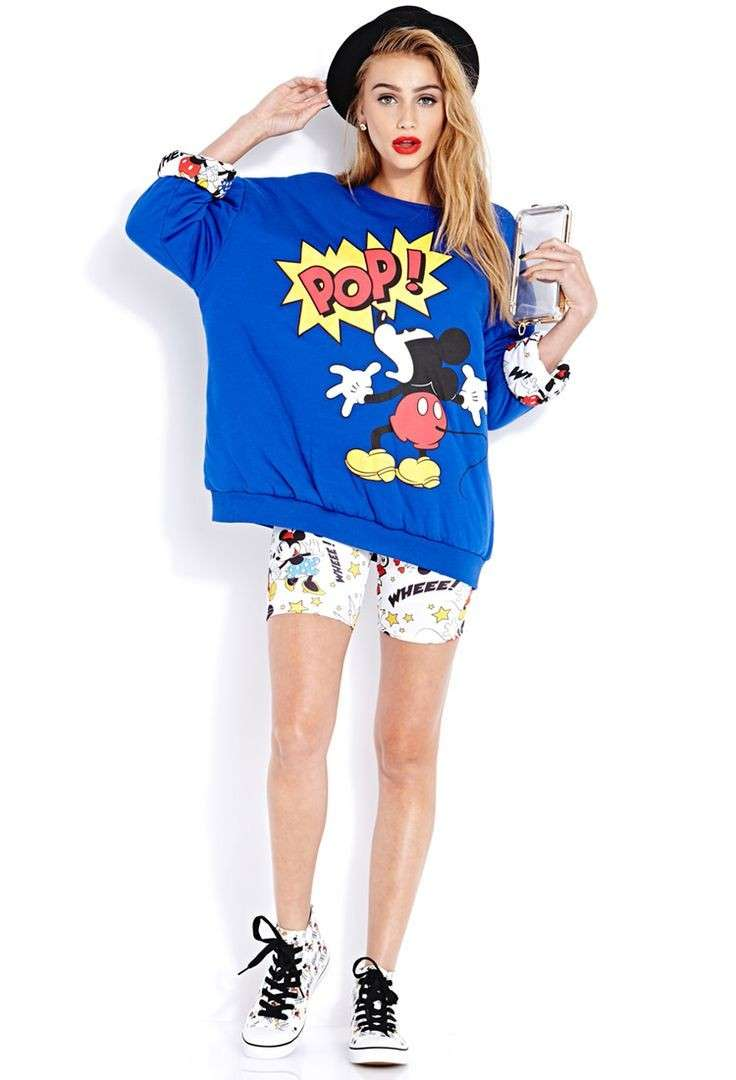 Mickey mouse look