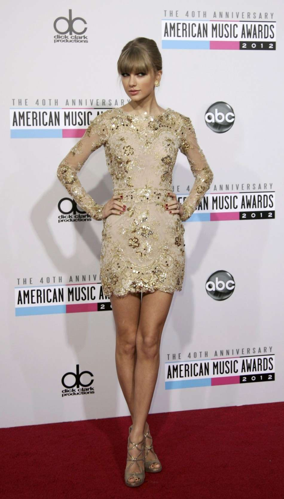 Taylor agli American Music Awards