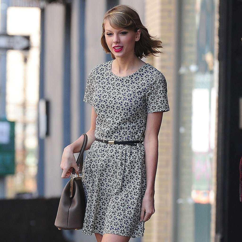 Taylor Swift con un look casual