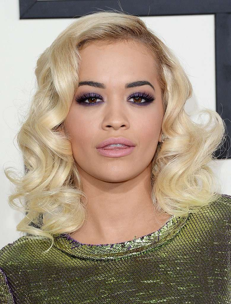 Rita Ora make up