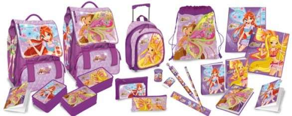 Back to school Winx 2014